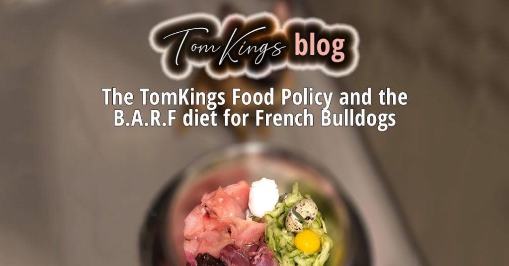 French Bulldog Frenchie BARF diet Raw food blog