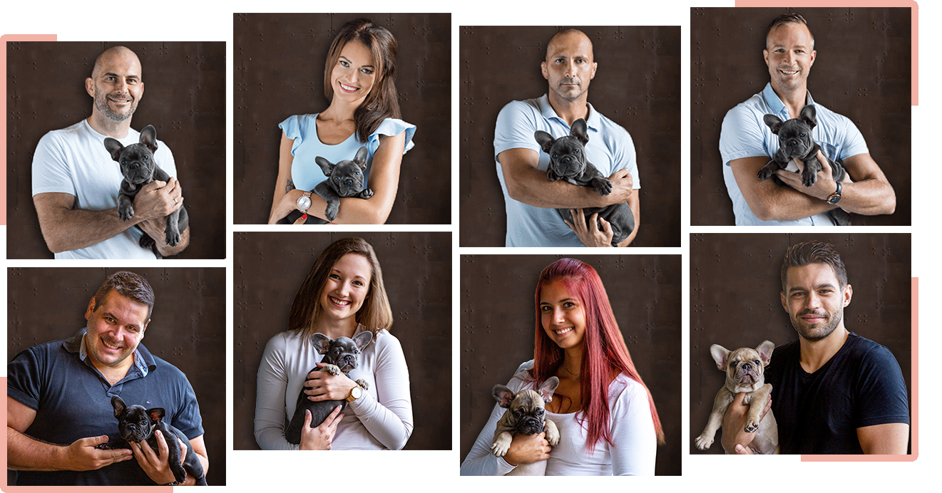The team of TomKings Puppies